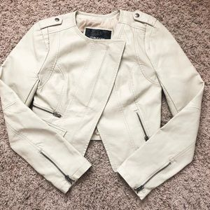 Maurices Jackets & Coats - Maurice's Cropped Vegan Leather Moto Jacket